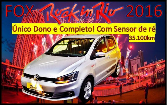 VW FOX ROCK IN RIO 2016